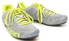 Giro Empire E70 Knit Men Carbon Road Gravel Bike Shoes Lace EU 41.5 US 8.5 Grey
