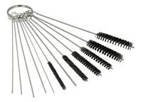 Carburettor Cleaning Brushes & Needles 15 Piece Set for Chainsaws Lawnmowers ATV