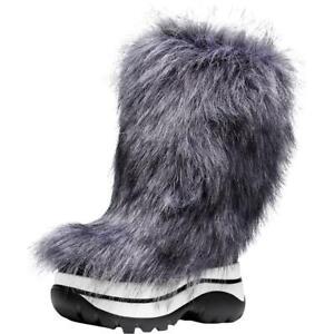 MICHAEL Michael Kors Womens Gray Winter Boots Shoes 6 Medium (B,M) BHFO 2988