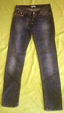 Auth. Versace Ladies Trousers Size 30 Jeans Blue Trousers Top #o1612