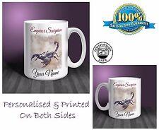 Emperor Scorpion Personalised Ceramic Mug: Perfect Gift. (P023)