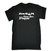 Funny Novelty T-Shirt Mens tee TShirt - Gamer Choose Your Weapon