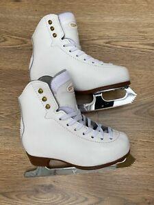 Graff 500 Kids White Figure Ice Skates EU 30 UK 12.5 Junior