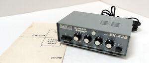 CURTIS    MODEL    EK-430   C-MOS   ELECTRONIC   KEYER   WITH   MANUAL