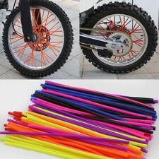 36Pcs Universal Motocross Dirt Bike Accessories Wheel Rim Spoke Wrap Skins Cover
