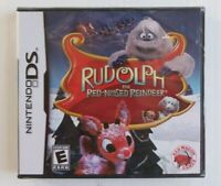 Rudolph the Red-Nosed Reindeer Nintendo DS 2010 Red Wagon Games Brand New Sealed