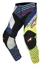 Pantalones de motocross Alpinestars color principal azul