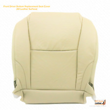 Driver Side Bottom Replacement Leather Seat Cover Tan For 2010 2011 Lexus IS350