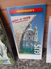 Hildebrand's give-a-way Urlaubskarte & Guide GUS, eine Broschüre