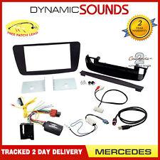 Ctkmb 11 Auto Stereo Doppio DIN Fascia Kit di Montaggio per Mercedes Classe A w176 2012 >