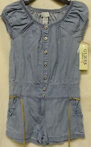 Guess Jeans Romper Girl 7 Chambray