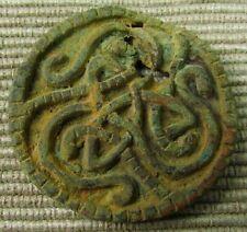 Ancient Viking Bronze Knot Amulet circa 700 A.D. (ref: b167)