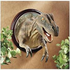 T Rex Dinosaur Jurassic Tyrant Lizard Trophy Mount Wall Sculpture
