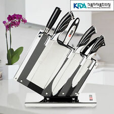 7Pcs Knife Set Kitchen Cutlery Japanese Chef Sashimi Cook Sharpener Sushi Knives