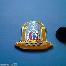 Large All Classic Master Mason Lapel Pin