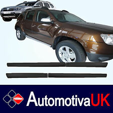 Dacia Duster Rubbing Strips | Door Protectors | Side Mouldings Body Kit