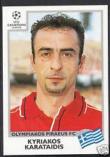 PANINI CALCIO ADESIVO-UEFA CHAMPIONS LEAGUE 1999-00 - N. 173-OLYMPIAKOS