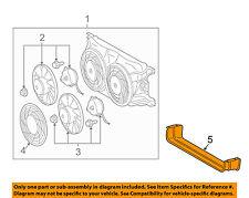 Mercedes MERCEDES-BENZ OEM 1999 ML430 A/C AC Condenser Fan-Air Baffle 1635050030