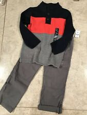 GAP  KIDS PULL ON PANTS & PULLOVER BLOUSE SWEATER 5 T KIDS NWT