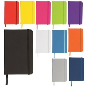 A4 LINED RULED HARD BACK NOTE BOOK HARDBACK NOTEBOOK NOTEPAD PAD WORK SCHOOL NEW