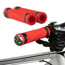 MTB Mountain Bike Bicycle Handlebar Grips Cycling Lock-On Ends 1 Pair