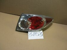06 07 Mazda 6 Sedan 4 Door PASSENGER Side Tail Light Used Rear Lamp #3153-T