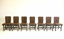 7 Vintage Cantilever Solid Wood MidCentury Danish Chair Office Atomic Dining Bar