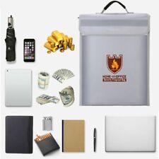 Fireproof Waterproof Household Precious Metal Bill File Bag Safety Fireproof Bag