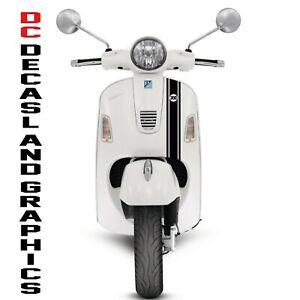 VESPA  GTS 300 LOGO FRONT STRIPE DECALS GRAPHICS