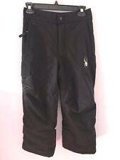 SPYDER Kids Snow Ski Snowboard Pants - Youth Boys Girls 10 - Black