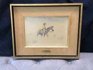 Leonard Reedy  Watercolor The Sand Storm