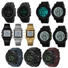 Reloj de Pulsera para hombres Reloj Deportivo Led Smart Digital despertarse Ejército Militar Impermeable
