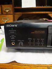 Sony Mds-Je700 Minidisc Md Deck Player Recorder Audio