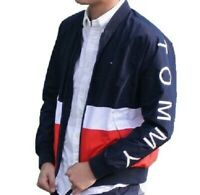 NWT Men's Tommy Hilfiger Full Zip Varsity Style Baseball Jacket Reg $150