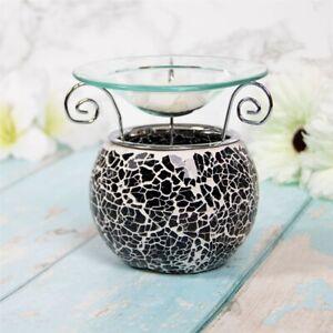 Desire Aroma Black Mosaic Wax Melt & Oil Burner Warmer Aroma Fragrance LP47257