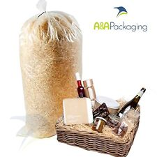 5 x Wood Wool Hamper Filling DUST FREE Fine Cut Kiln Dried Shred Fill