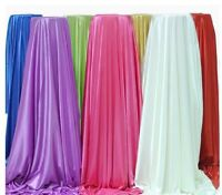 5/10/15/20/30m ICE SILK SMOOTH FABRIC Wedding Swags Overlay Curtains Backdrop