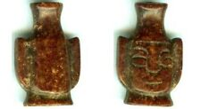 "1000BC Ancient Sacred ""Stone of Dreams"" Shang China 17ct Red Jade Shaman Amulet"