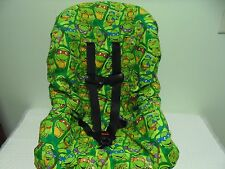 Ninja turtle toddler car seat cover-new-handmade