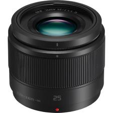 Panasonic Lumix G 25mm F1.7 ASPH Lens: Black
