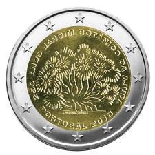 RARE PIECE DE 2 EUROS COMMEMORATIVE JARDIN BOTANIQUE AJUDA PORTUGAL - NEUVE, UNC