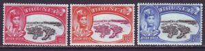 Brunei 1949 SC 76-78 MH Set Silver Jubilee