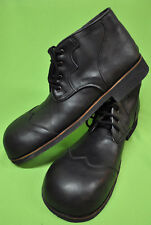 ZYKO Professional Real Leather Clown Shoes Extra Long model (ZH0024) ALL Black