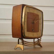 STUNNING Art deco/antique WOODEN mantle clock