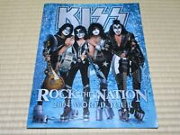 """KISS"" Tourbook Rock The Nation 2004 World Tour Booklet Very Good Condition"