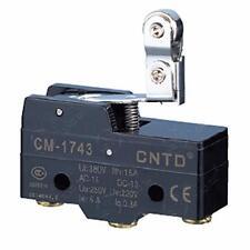 Micro Interruttore Switch Serie CM plastica 1NO+NC 15A 250V IP20 |CNTD-CM-1743