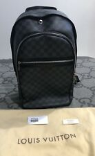 100% AUTHENTIC LOUIS VUITTON MICHAEL BACKPACK BOOK BAG DAMIER GRAPHITE MINT