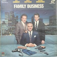LASERDISC - NTSC - FAMILY BUSINESS - SEAN CONNERY - DUSTIN HOFFMAN