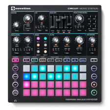 Novation Circuit Mono Station - Analogue Synth Launchpad Sequencer 2YR WARRANTY