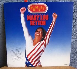MARY LOU RETTON poster Funfit record flat 1985 gymnastics Olympic gold medalist